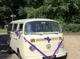 1973 Campervan for wedding hire in Worthing
